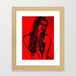Roxanne Framed Art Print