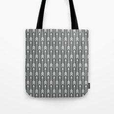 Grey Arrow Tote Bag