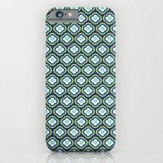 Navy Graphic Flower iPhone 6s Slim Case