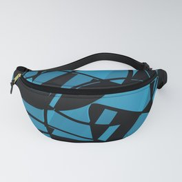 3D Abstract Futuristic Background  X.012 Fanny Pack