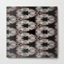 Concave Stature Pattern 10 Metal Print