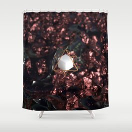 Hexahedron Shower Curtain