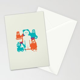 Friendlier Robots Stationery Cards