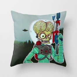 MARS ATTACKS Throw Pillow