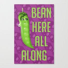 Sombra Bean Canvas Print