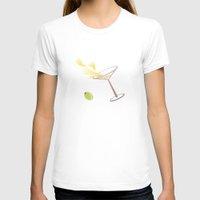 martini T-shirts featuring Martini by rusanovska