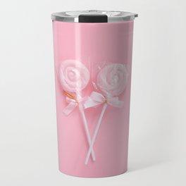Pink Lollipops Travel Mug