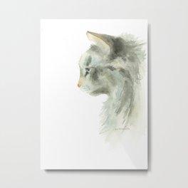 lynx point siamese cat Metal Print