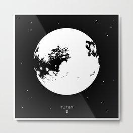 Titan Metal Print
