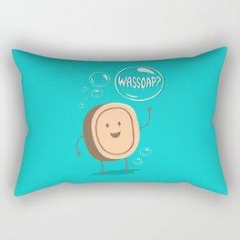Wassoap?  Rectangular Pillow