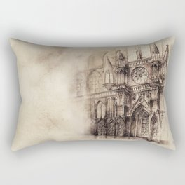 Gothic Cathedral 2 Rectangular Pillow