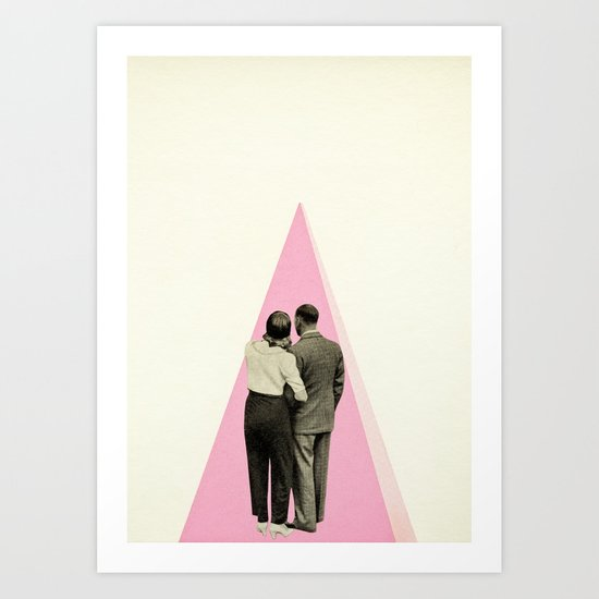 It's Just You and Me, Baby Art Print