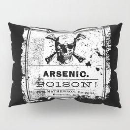 Arsenic Poison - Old Label - Death - Retro Pillow Sham