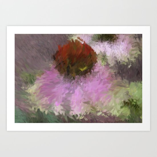 Cone Of Beauty Art Art Print