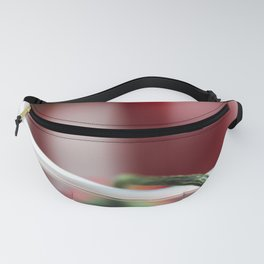 sharp chili family in the glass Fanny Pack