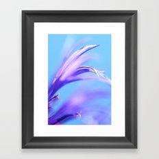 flower dance III Framed Art Print