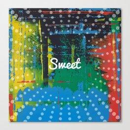 Color Chrome - sweet graphic Canvas Print