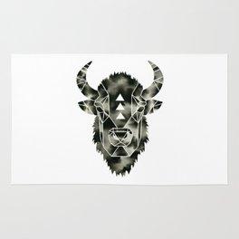 Fractured Geometric Buffalo  Rug