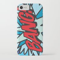 comic book iPhone & iPod Cases featuring Comic Book BANG! by The Image Zone