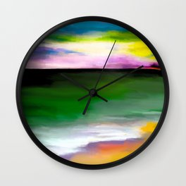 Storm on the Sound Wall Clock