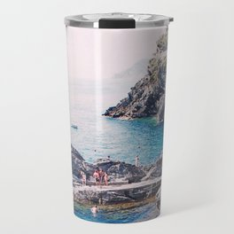 Cinque Terre Swimming Hole Travel Mug