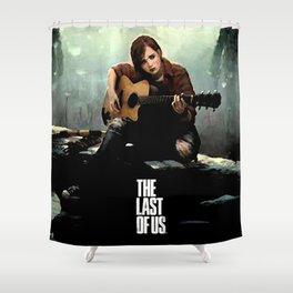 The Last of Us Grown Ellie Shower Curtain