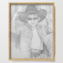 Howdy Pardner Serving Tray