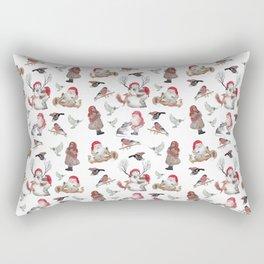 Gnome pattern - Christmas Rectangular Pillow
