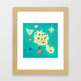 Tahiti Treasure Framed Art Print