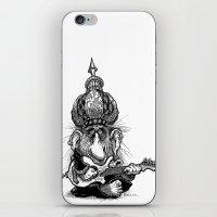 ali gulec iPhone & iPod Skins featuring Ali Jamma by PRESTOONS / Art by Dennis Preston