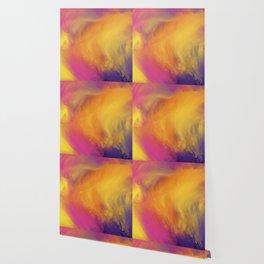 Abstract rainbow pattern Wallpaper
