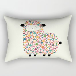Bubble Sheep Rectangular Pillow
