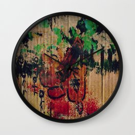 Humanity Wall Clock