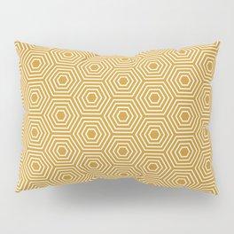 Honeycomb Geometric Pattern Pillow Sham