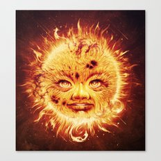 The Sun (Young Star) Canvas Print