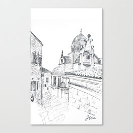 Cathedral of St. James in Sibenik Canvas Print
