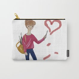 Love Matters Carry-All Pouch
