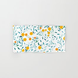 Orange Tree Hand & Bath Towel