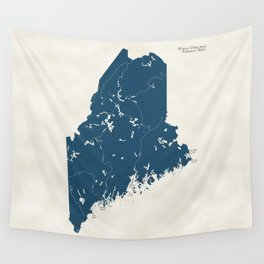 Maine Parks - v2 Wall Tapestry