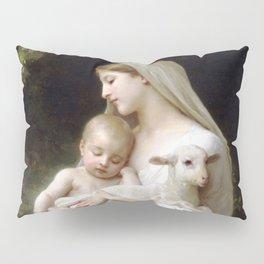 "William-Adolphe Bouguereau ""L'Innocence (Innocence)""(1893) Pillow Sham"