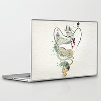 spirited away Laptop & iPad Skins featuring spirited away by Manoou