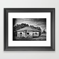 The Place Where it Happened Framed Art Print