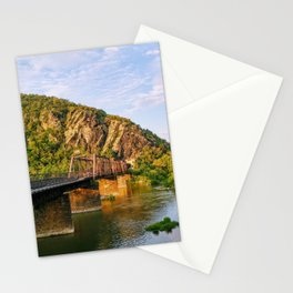 Majestic mountains (Harper's Ferry, WV) Stationery Cards