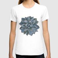 succulent T-shirts featuring Succulent by Antonina Sotnikova