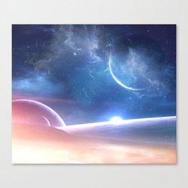 A world untouched Canvas Print