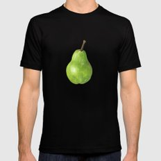 The Beauty of a Pear Mens Fitted Tee Black MEDIUM