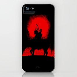 Dark Rider iPhone Case