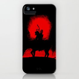Dark Rider iPhone Case