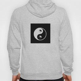 Ying yang the symbol of harmony and balance- good and evil Hoody