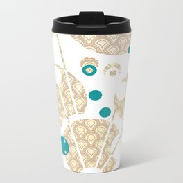 Stay Gold, Be the Wand Metal Travel Mug